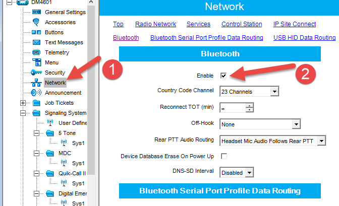 How To Interconnect Trbonet Bt Messenger App And A Radio