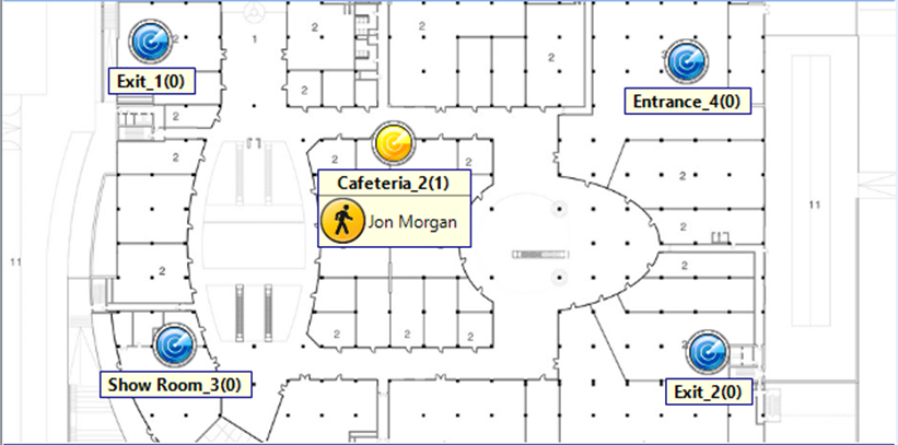 TRBOnet Indoor Map for iBeacon