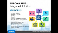 TRBOnet Plus Webinar, September 29, 2016